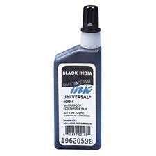 Koh-I-Noor Universal Waterproof Black India Ink 22mL/.75oz