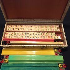Royal Depth Control Mahjongg 162 Tiles~Dice~8 Natural Jokers!