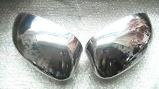 Fiat 500 & Punto Decorative CHROME Look Mirror Covers Car Parts! Other Colours!