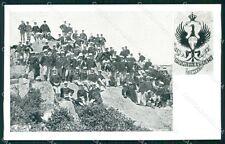 Militari 41º 42º Reggimento Fanteria Brigata Modena cartolina XF4897