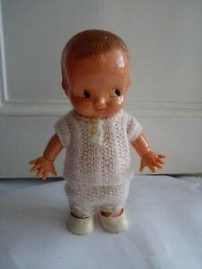 Vintage Plastic Kewpie Style Doll by Irwin U.S.A