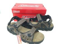NEW! Coleman Men's Wave Rider Sandals Brown #77647 189A a