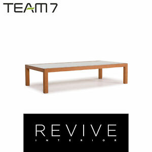Team 7 Loft Wood Glass Coffee Table #12399