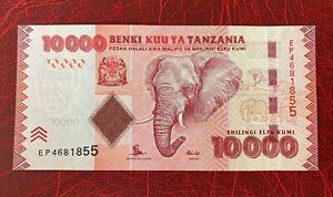 Tanzania 10000 Shillings ** UNC **