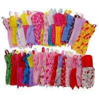 12pcs/set Mix Sorts Handmade Party Dress Clothes For Barbie Doll Kids Toys YU