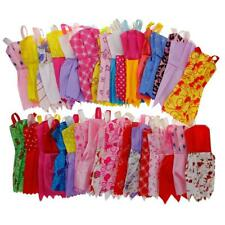 12pcs/set Mix Sorts Handmade Party Dress Clothes For Barbie Doll Kids Toys Gift