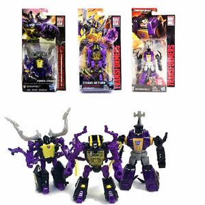 3 Pieces Transformers Legends Class Insecticons Bombshell Shrapnel Kickback New