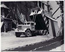 PETERBILT MODEL 381 OFF-ROAD DUMPER @ CONROCK - So Calif 8x10 B&W GLOSSY PHOTO