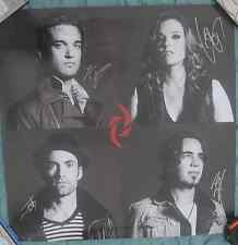 Halestorm Signed Poster Autographed Limited Edition Into The Wild Life Lzzy Hale