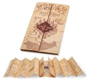 Harry Potter Marauder's Map Mini version Collectible Retro Parchment Map 76x22cm