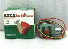NEW ASCO RED HAT 8262G36 2-WAY DIRECT-ACTING SOLENOID VALVE