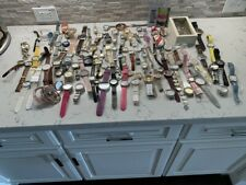 Watch Lot  10 Pounds Approx 100 watches  Untested / Repairs / Parts.
