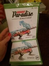 Xbox One Burnout Paradise Remastered BRAND NEW FACTORY SEALED