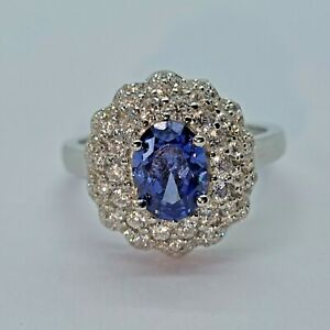 Brand New Sterling Silver 925 CZ Ring, Size O