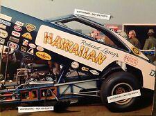 Roland Leong Hawaiian Pat Foster 8x10 dragster Nhra 1970 funny car