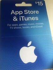 $15 iTunes Apple Gift Card