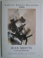 JEAN MIOTTE  - Carton d invitation - 2006