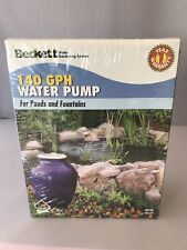 Water Pump For Ponds and Fountains 140 GPH