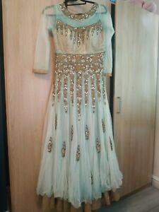 Asian Anarkali Lehenga Dress