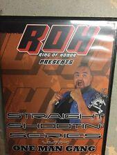 Ring of Honor Straight Shootin One Man Gang ROH PWG WCW NJPW WWE OOP Akeem