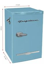 Frigidaire Retro 3.2 Cu. Ft Mini Fridge & Freezer Office Dorm Refrigerators New