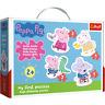 Trefl Bébé Classique Premier Puzzle Peppa Pig Enfant Éducatif Épais Pièces