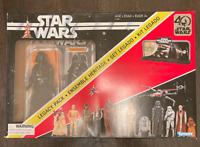 🇺🇸Star Wars 40th Anniversary Legacy Pack/Hasbro: Darth Vader w/display stand!