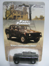 Fast Furious 4 Braga's Black Lamborghini LM002 Custom Hot Wheels