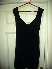 Womans Stretch Black Dress / Top By rise Size 8