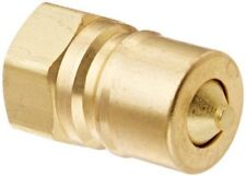 Eaton Hansen GR605SL143 Brass Quick-Connect Pneumatic Fitting Sleeve Lock Socket 1//4 Body Fluorocarbon Seal 3//8 Port Size 3//8-18 NPTF Male