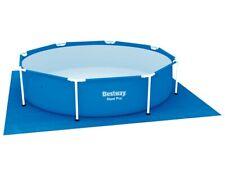 58000 Bestway Piscina Piano di Terra 274x274cm Telo Protezione Pavimento