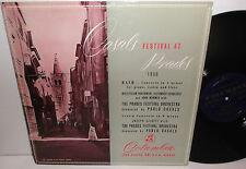 33CX 1113 Bach Violin Concerto Joseph Szigeti Prades Festival Orch Casals Grvd