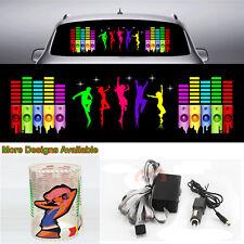 Hyun Dance Music Rhythm Car Sticker Flash Light Sound Activated Equalizer 90*25