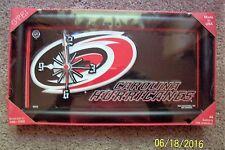 Carolina Hurricanes - NHL LICENSE PLATE CLOCK - NIP