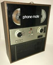Vintage Mid 70's Phone Mate Super800 Automatic Reel to Reel Answering Machine