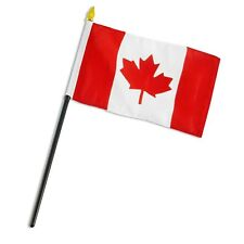 "Canada 4""x6"" Flag Desk Table Stick"