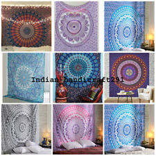 50 Piece Wholesale Lots White Different Designs Single Size Mandala Tapestry