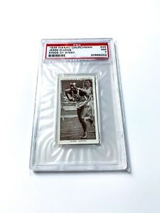 1939 W.A. & A.C. CHURCHMAN KINGS OF SPEED #45 Jesse Owens RC PSA 7 Olympics 🇺🇸