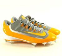Nike Huarache 2KFilth Pro Low Grey/Sundown Baseball Cleats 807126-071 MEN'S 8