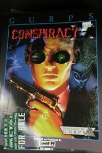 GURPS: Conspiracy X - First Edition - Rpg Gurps Supplement Soucebook