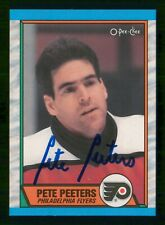 PETE PEETERS 2008-09 O-PEE-CHEE BUY BACK AUTOGRAPH 08-09 NO 195  30882