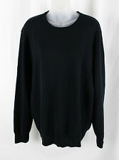 Everlane Women's Black Crew Neck Long Sleeve Pull Over Shirt Top Size L