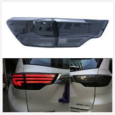 Black LED Rear Lights Assembly Tail Lamps For 2014-2018 Toyota Highlander