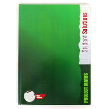 A4 Project Maths 5mm Square Lined Hard Cover Notebook, 128 Pages