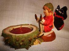 Country Artists Butterfly Fairies Figurine - Autumn Aura Votive 04453
