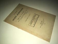 Plaquette DECOUVERTES GALLO ROMAINES CHANTIER POUDRERIE DE BOUSSENS 1940 DC09A