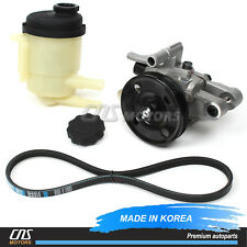 Power Steering Pump & Belt & Reservoir for 2001-2006 Hyundai Elantra 571002D100