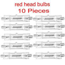 RH10B Tête rouge continu de Studio lumière vidéo éclairage 800W AMPOULE 10