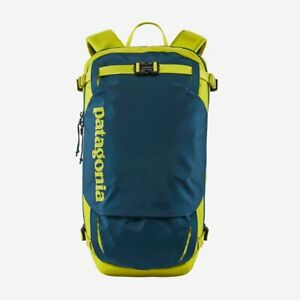 Patagonia Snowdrifter Pack 676.3oz Crafter Blue Backpack Backcountry Ski Snow S