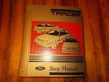 NOS 1987 1988 MERCURY TRACER FACTORY SHOP SERVICE MANUAL IN BINDER W SUPPLEMENT